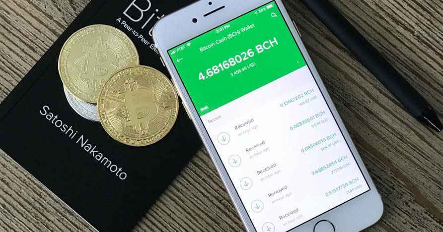 Bitcoini mobiilikasiinode alustamine