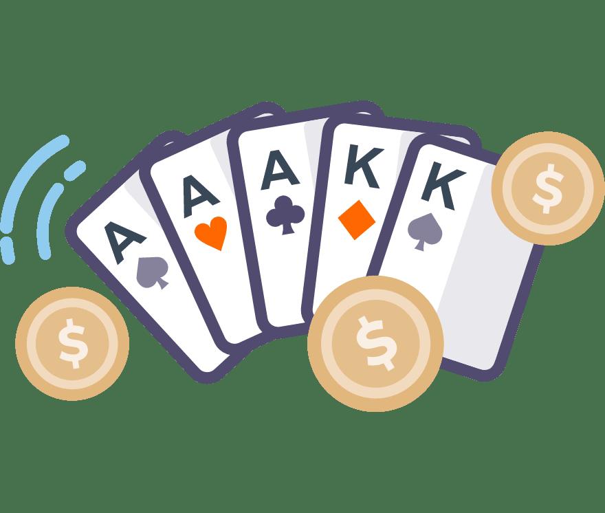 64 parimat Mobiili Casinot, mille mängude hulgas on 2021. aastal Poker