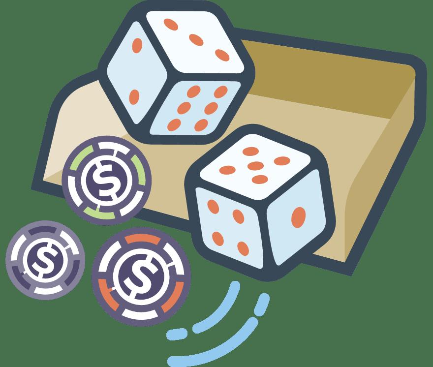 25 parimat Mobiili Casinot, mille mängude hulgas on 2021. aastal Craps