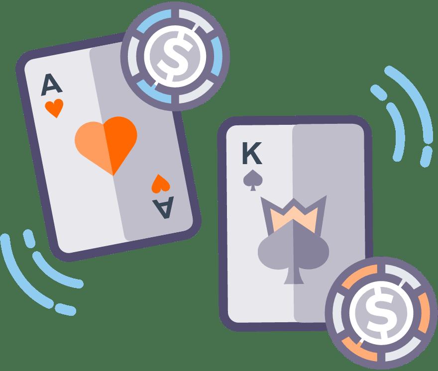 4 parimat Mobiili Casinot, mille mängude hulgas on 2021. aastal Casino War